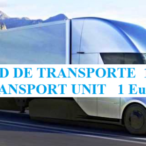 Transport units in Euro